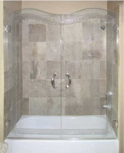 Contoured Shower and Shower Door Systems