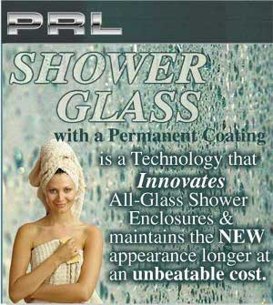 Protective shower glass and shower door glass coatings
